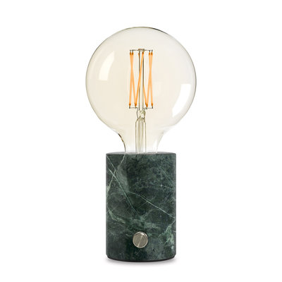 EDGAR - ORBIS Lamp green marble