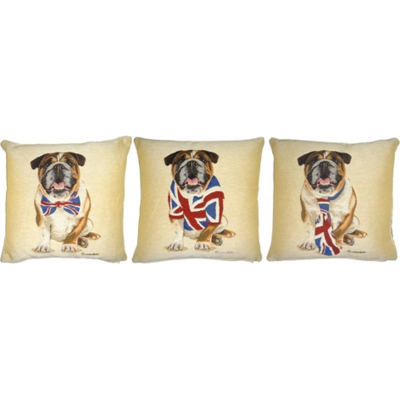 British Bulldogs Set of  3