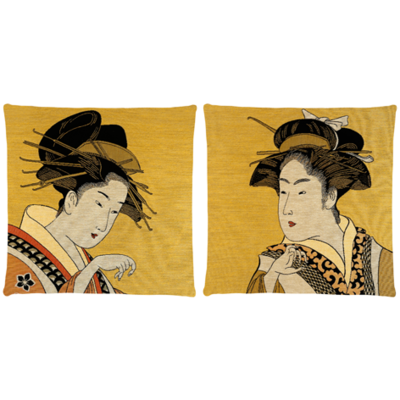 Classic Geisha Set of  2
